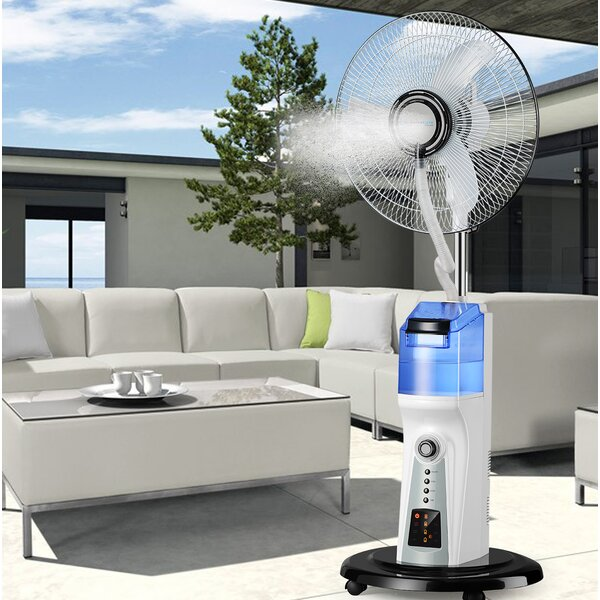 16 Oscillating Floor Fan by TPro