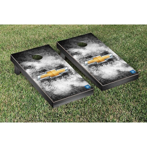 Chevy Bowtie Cornhole Game Set by Victory Tailgate