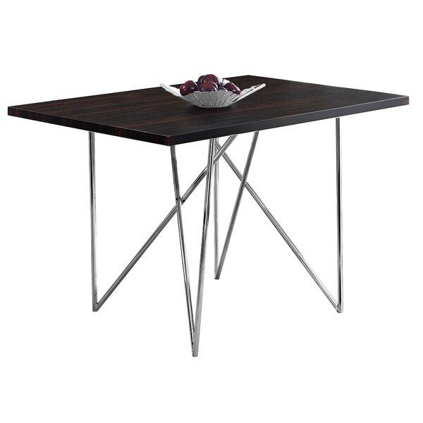 Haynes Metal Dining Table by Ebern Designs Ebern Designs