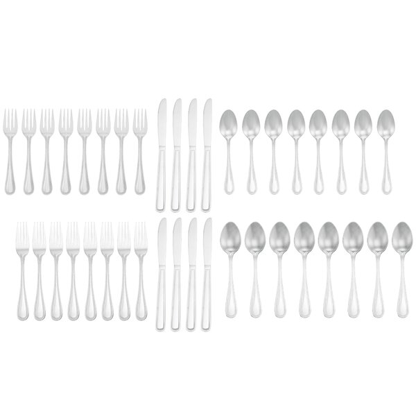 Ryan 40-Piece Flatware Set by Charlton Home