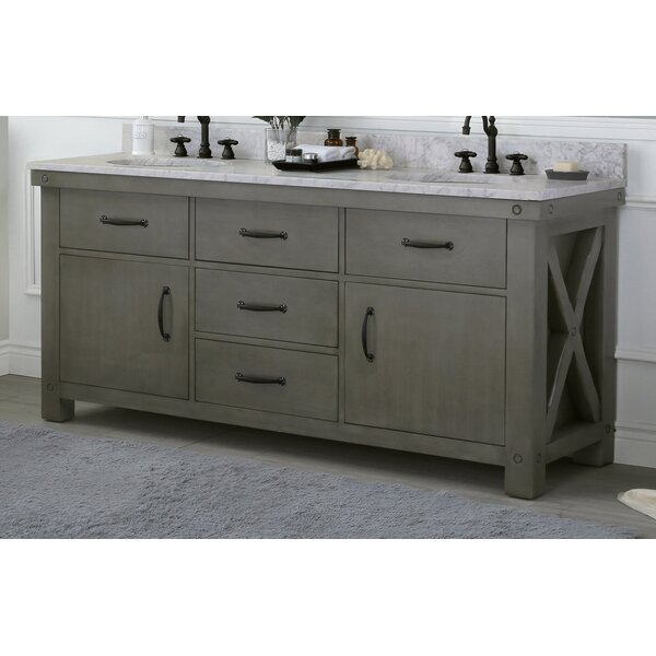 Cleora 72 Double Bathroom Vanity Set by Williston Forge