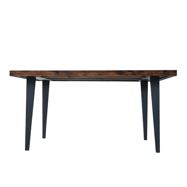 Fiskeville Acacia Rectangle Dining Table by Union Rustic