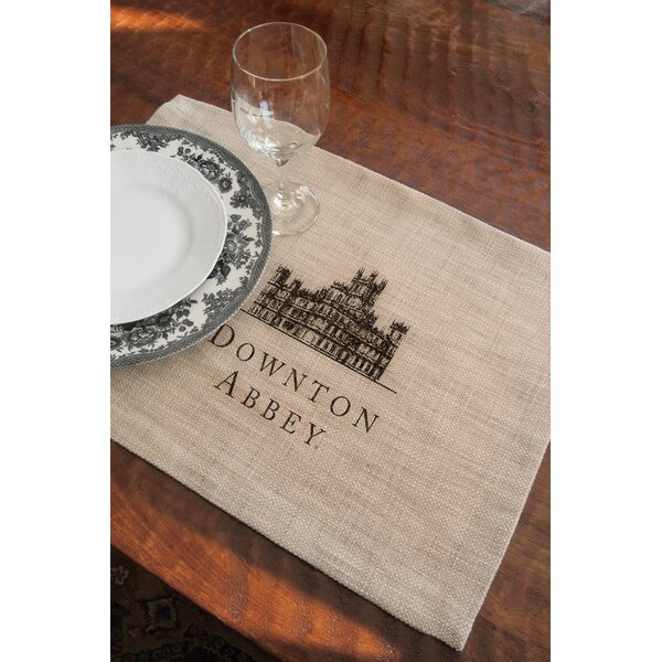 Downton Abbey Castle Placemat (Set of 4) by Heritage Lace