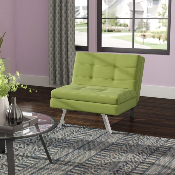 Denna Fabric Fiber Reclining Sofa Bed by Ebern Designs
