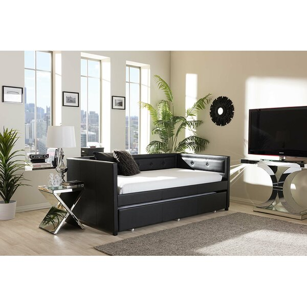 Wulfsohn Twin Daybed With Trundle By Orren Ellis