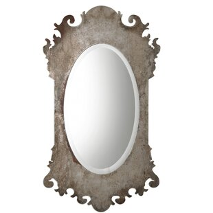 House of Hampton Leda Vitravo Oxidized Accent Mirror