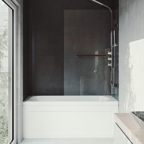 Rialto 34 x 57.38 Hinged Bathtub Door by VIGO