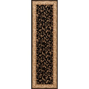 Calley  Black Area Rug By Wildon Home ®