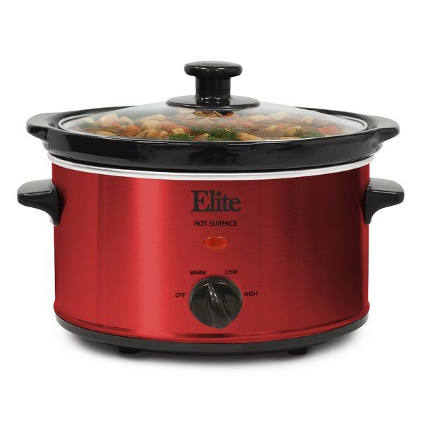2-Quart Gourmet Slow Cooker by Elite by Maxi-Matic