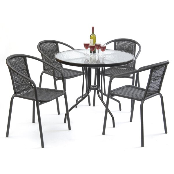 Cael 5 Piece Dining Set by Zipcode Design