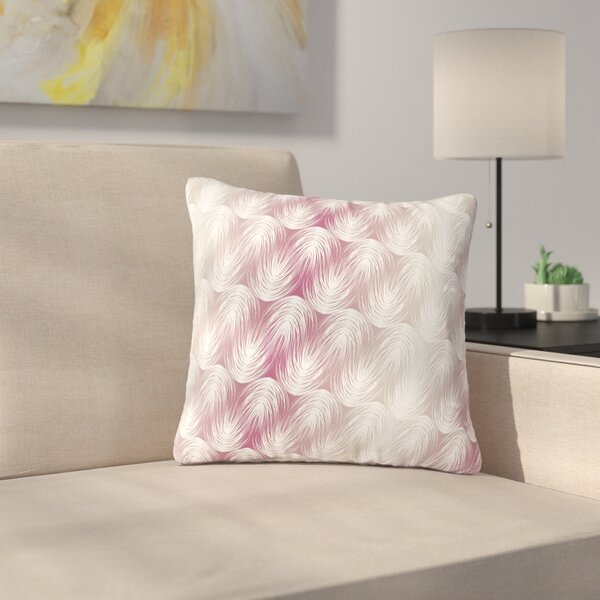 Gukuuki Stripe Palms Outdoor Throw Pillow by East Urban Home