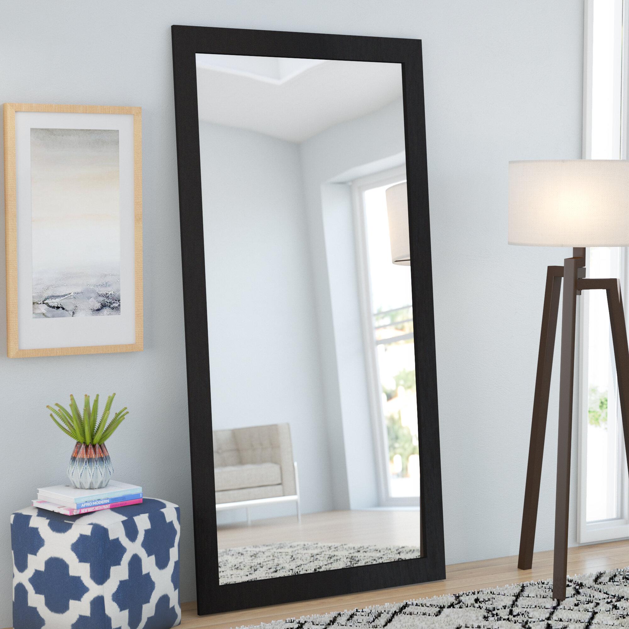Brayden Studio Modern Full Length Mirror Reviews Wayfair