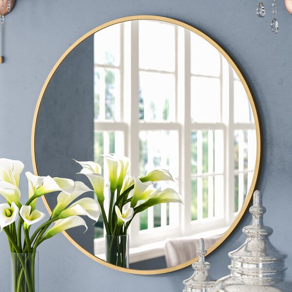Katsikis Round Accent Wall Mirror by Everly Quinn