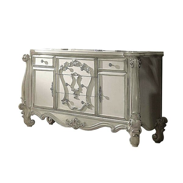 Sylacauga Oversized 5 Drawer Combo Dresser by Astoria Grand
