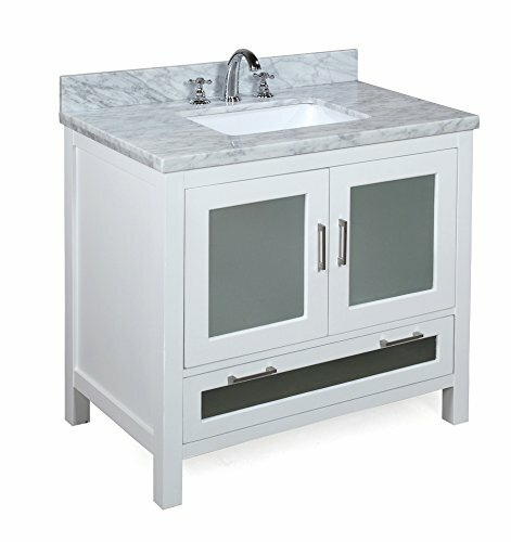Manhattan 36 Single Bathroom Vanity Set by Kitchen Bath Collection