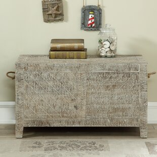 Friley Coffee Table with Storage Highland Dunes