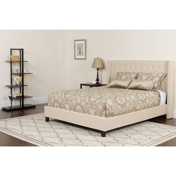 Odin Tufted King Upholstered Platform Bed by Winston Porter