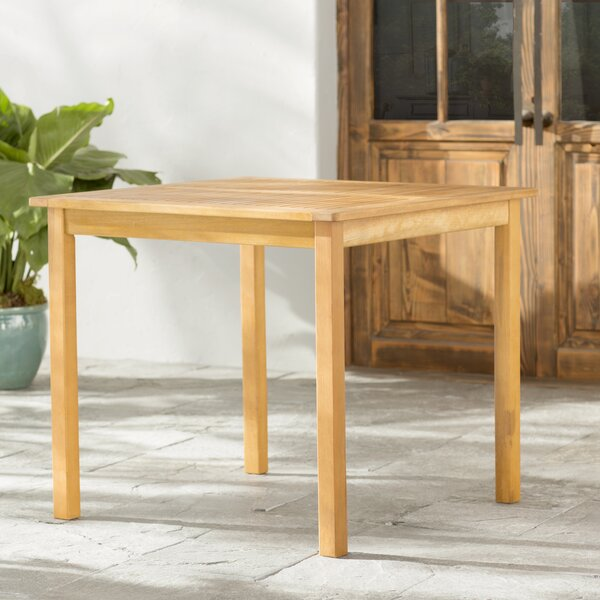 Joaquin Patio Table by Beachcrest Home