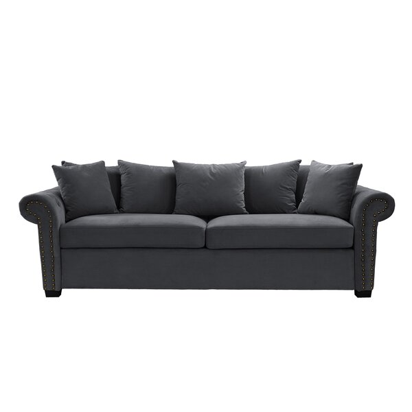 Falkner Classic Scroll Sofa by Ebern Designs
