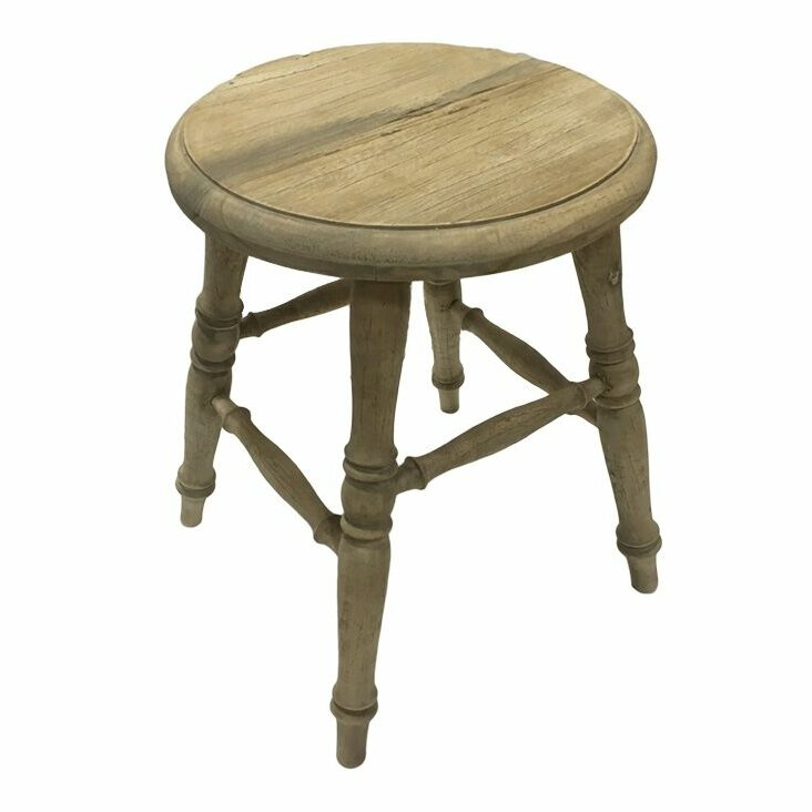 Fenwick Wooden Accent Stool