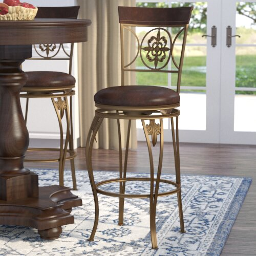 Latia 30 Swivel Bar Stool by Darby Home Co