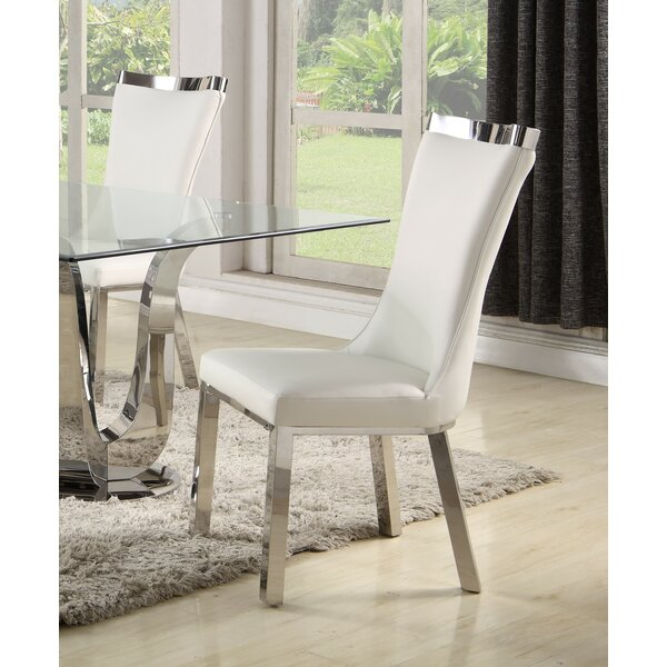 Kenya Upholstered Dining Chair (Set of 2) by Orren Ellis