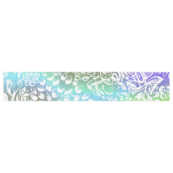 Vikki Salmela Bloom Softly for You Table Runner by East Urban Home