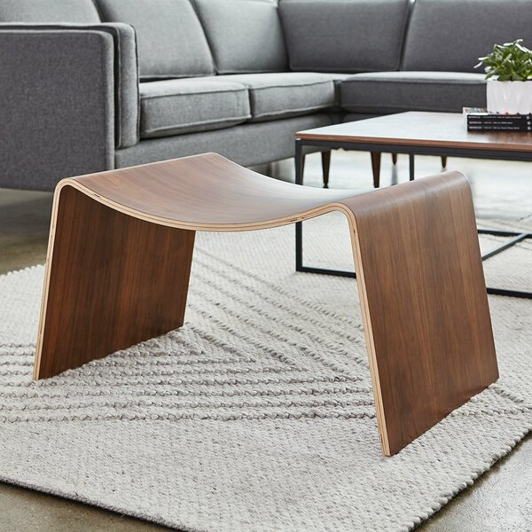 Wave Accent Stool by Gus* Modern