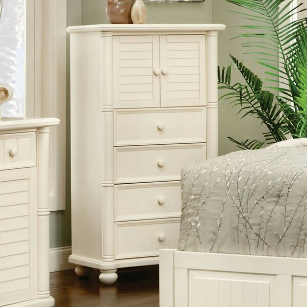 Hinkley 4 Drawer Combo dresser by Rosecliff Heights