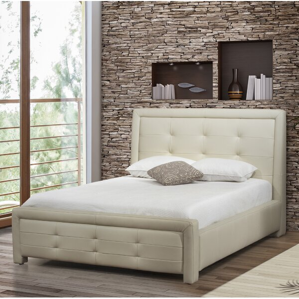 Claar Upholstered Platform Bed by Brayden Studio