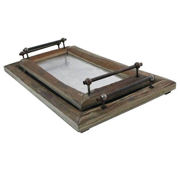 2 Piece Tray Set by Loon Peak