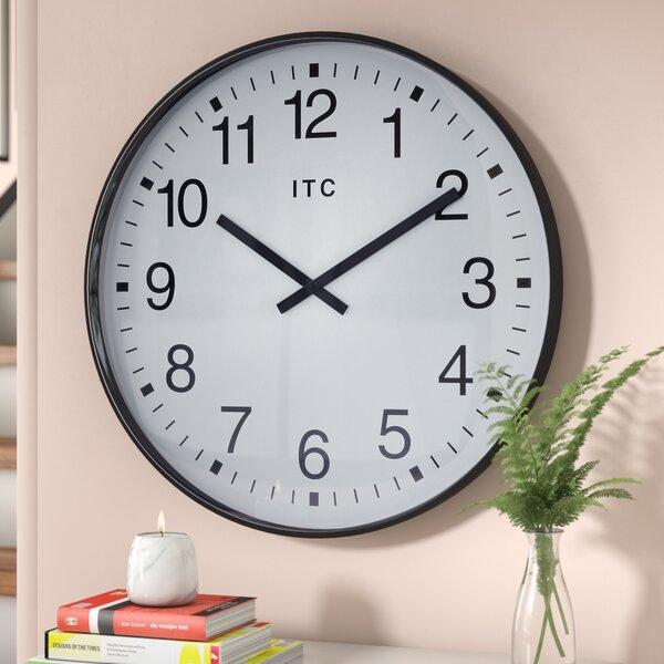 Claverham 19 Wall Clock by Wade Logan