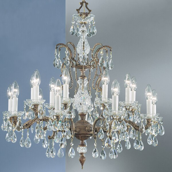 Ewert 18-Light Candle Style Chandelier by Astoria Grand