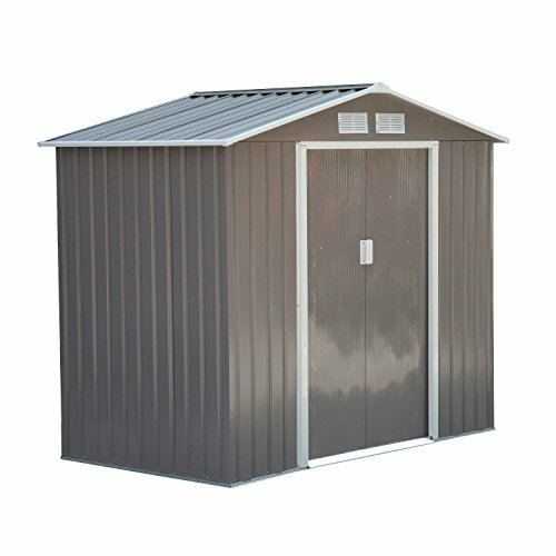 Outdoor Metal Garden Storage Shed by Outsunny