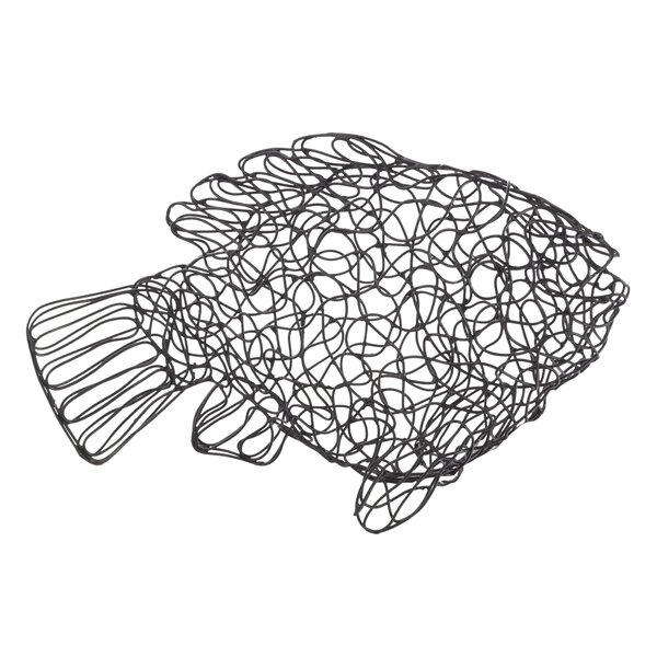 Chasteen Metal Tilapia Fish Figurine by Highland Dunes