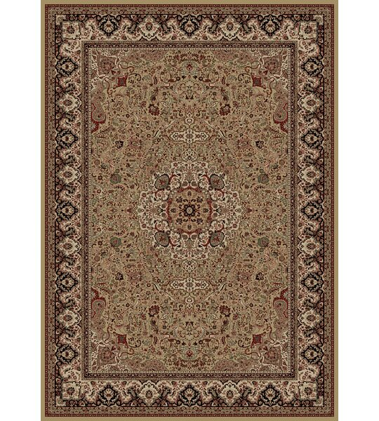 Persian Gold Classics Oriental Isfahan Area Rug by The Conestoga Trading Co.