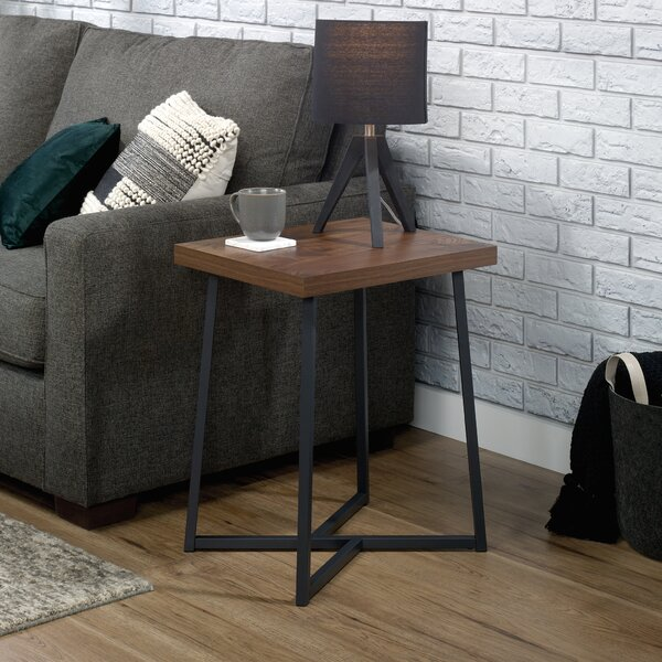 Aubrianna Cross Legs End Table By Union Rustic