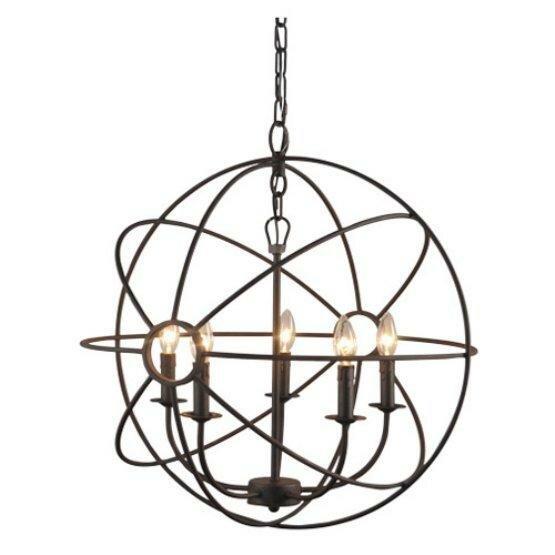 Ingrid Orb 6-Light Unique / Statement Globe Chandelier by Charlton Home Charlton Home