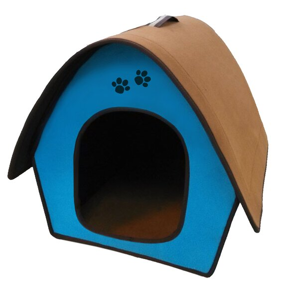Zipper Curved Roof Dog House by Penn Plax