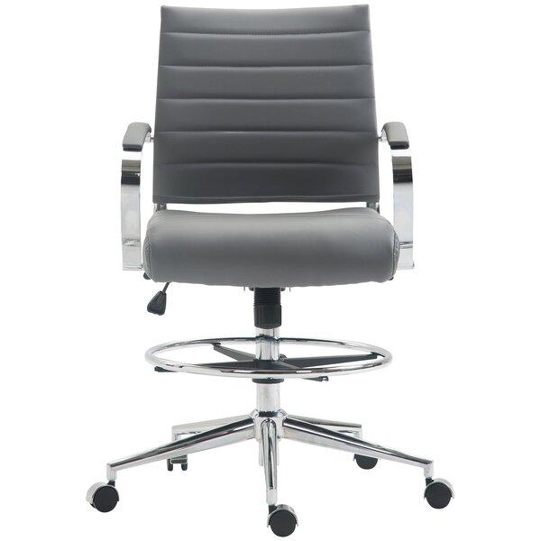 Mccampbell Drafting Chair by Orren Ellis