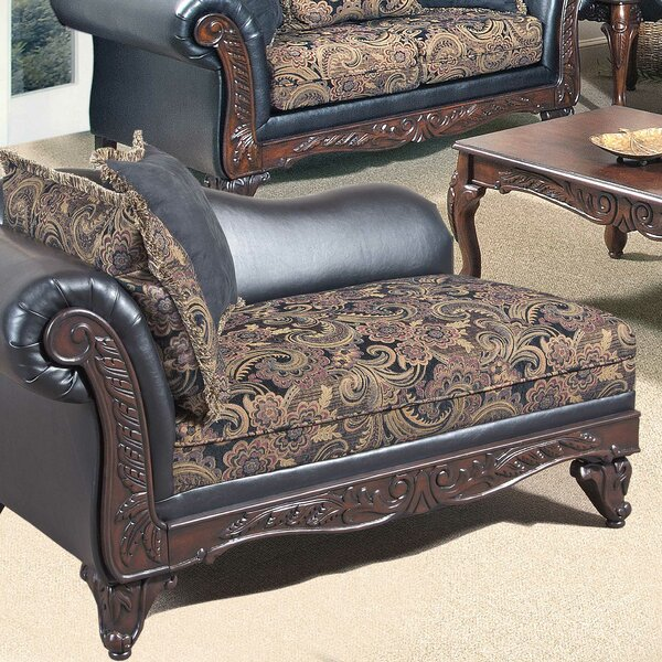 Emmons Floral Chaise Lounge By Astoria Grand