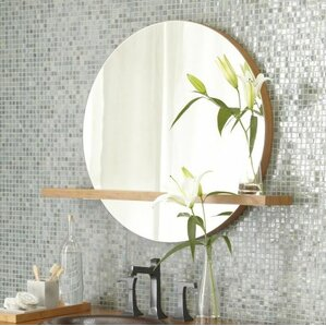 Bathroom Mirror You Look Fine shelf or drawer mirrors you'll love | wayfair