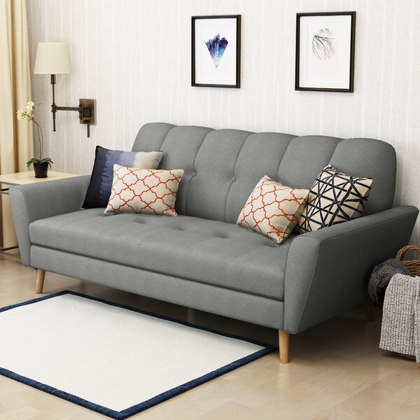 Valuable Quality Sunnydale Mid Century Sofa by Wrought Studio by Wrought Studio