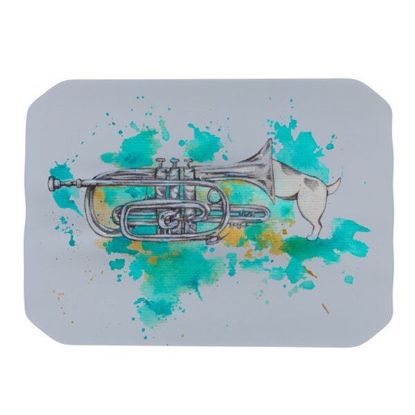 Hunting for Jazz Placemat by KESS InHouse