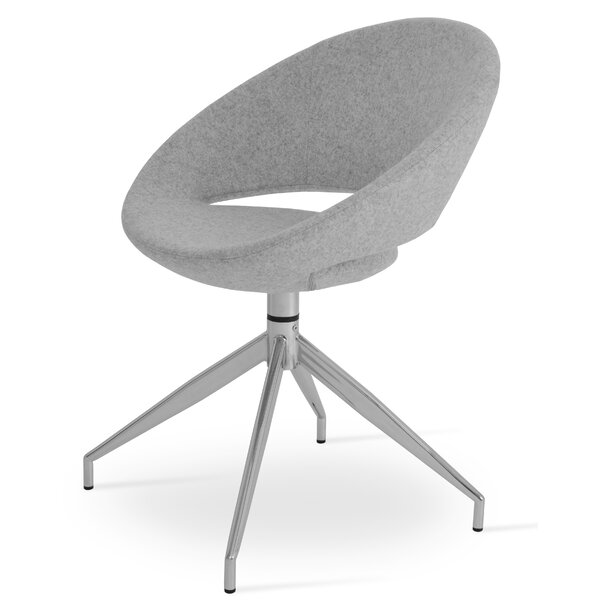 Crescent Spider Swivel Papasan Chair By SohoConcept