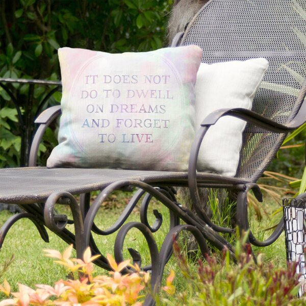 Inspirational Living Indoor/Outdoor Throw Pillow