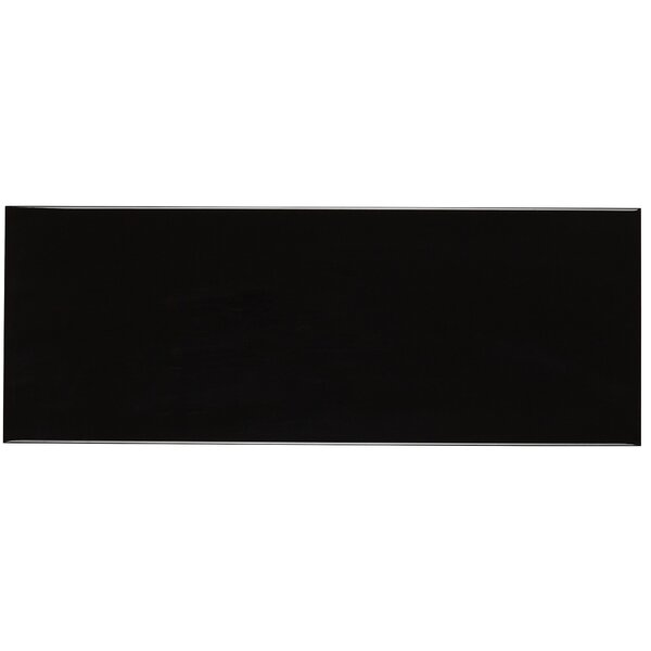 Baltimore 6 x 16 Ceramic Field Tile in Black by Itona Tile