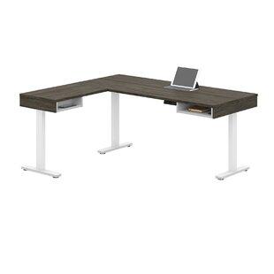 Hanger Height Adjustable L-Shape Standing Desk