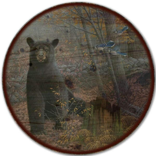 Stonewall Black Bear Lazy Susan by WGI-GALLERY