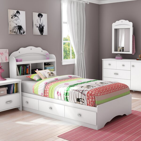 Tiara Twin Mate's & Captain's Bed with Drawers by South Shore